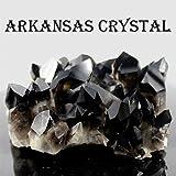 極上品アーカンソー産 Extra スモーキークォーツ(黒水晶)クラスター原石