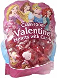 Disney Princess Classroom Valentine Day Hearts with Candy 22 Pack