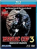 Maniac Cop 3: Badge of Silence [Blu-ray + DVD Combo Pack] - Region B - Robert Z'Dar and Robert Davi