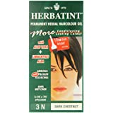 Herbatint 3N Dark Chestnut Permanent Herbal Hair Colour Gel 135ml