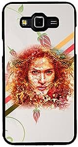 PrintVisa Girly Case Cover for Samsung Galaxy Grand Max (Multicolour)