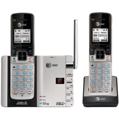 At&T Atttl92273 Dect_6.0 Expandable Bluetooth Phone With Caller Id