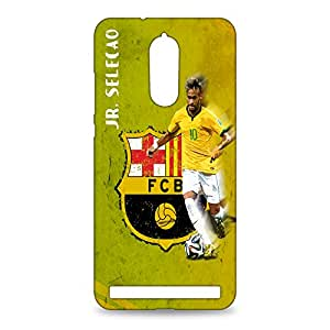 ezyPRNT Lenovo Vibe K5 Note Mobile Back Case Cover with Beautiful Premium JR. Selecao