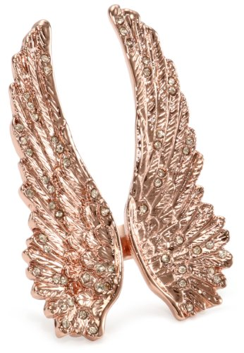 WILDFOX Rose Wing Ring, Size 6