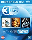 Blu-ray Starter Pack (Fast & Furious/Gladiator/Wanted) [Region Free]