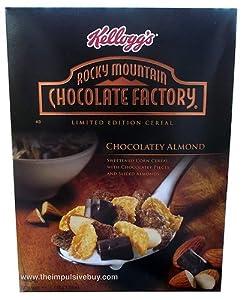 Kellogg's Rocky Mountain Chocolate Factory® Chocolately Almond 11.5 Oz [2 Pack]