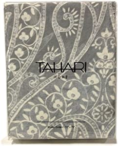 Gray White And Silver Floral Paisley Shower Curtain Grey Shower Curtain