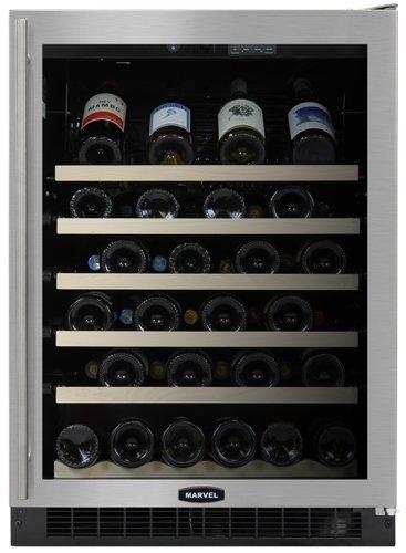 Marvel Luxury Series 61Wcmbsgr 24 Wine Cellar, 45-Bottle Capacity, Right Hinge front-585369