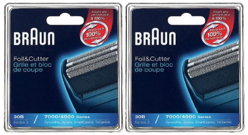 Braun 30B 7000/4000 Replacement Foil And Cutter Combo Pack (Braun 4605 Shaver compare prices)