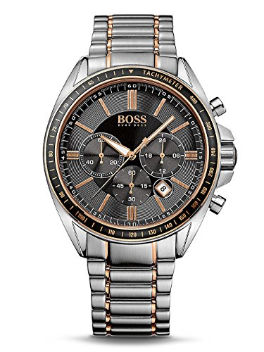 Hugo Boss Black Driver Sport Mens Chronograph Watch 1513094