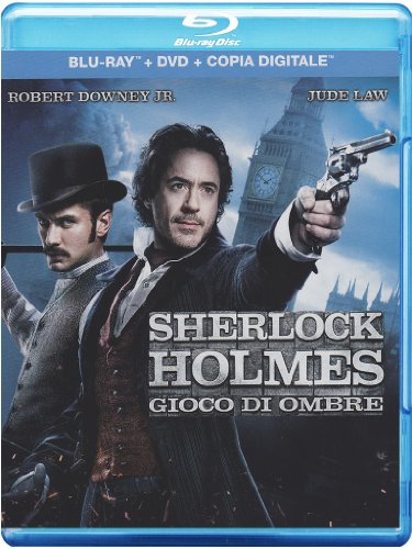 Sherlock Holmes - Gioco di ombre(+DVD) [Blu-ray] [IT Import]