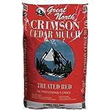AMERISCAPE 55554 Cedar Mulch, 2 Cubic Feet, Red (Discontinued by Manufacturer)