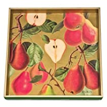 Square Wooden Tray Mothers Day Gift Michel Design Works Square Decoupage 12-1/2-Inch