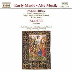 Geistliche Chorwerke von Palestrina und Allegri