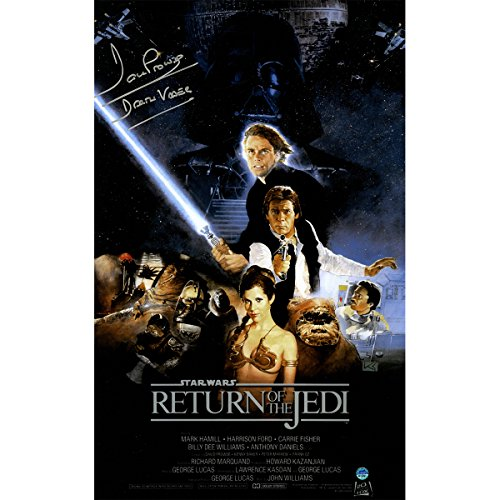 Dave-Prowse-Autographed-Darth-Vader-Star-Wars-Episode-Vi-Return-Of-The-Jedi-11-inch-x-17-inch-Movie-Poster-Photo