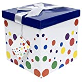Endless Art US Capri EZ Gift Box. Easy to Assemble and No Glue Required. (7x7)