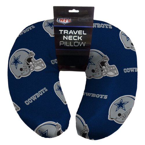 Nfl Dallas Cowboys Beaded Spandex Neck Pillow