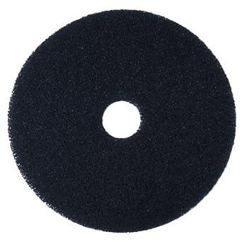 3M Black Stripper Pad 7200, Floor Care Pad (Case of 5)
