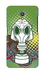KnapCase Skull Trophy Designer 3D Printed Case Cover For Micromax Canvas Fire 4G Q411