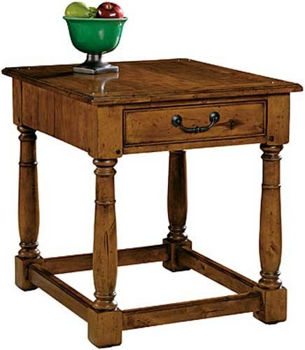 Image of Hekman Mountain Retreat Rectangular End Table (B001UM0YZS)