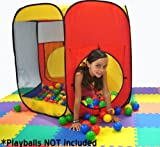 Most Popular Play Tent: Premium JUMBO Size Six Sided Hexagon