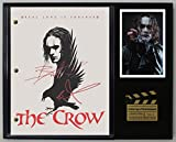 """THE CROW LTD EDITION REPRODUCTION SIGNED CINEMA SCRIPT DISPLAY""""C3"""""""
