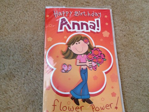 Happy Birthday Anna - Singing Birthday Card