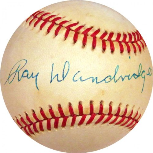 Ray Dandridge Autographed Baseball (JSA)
