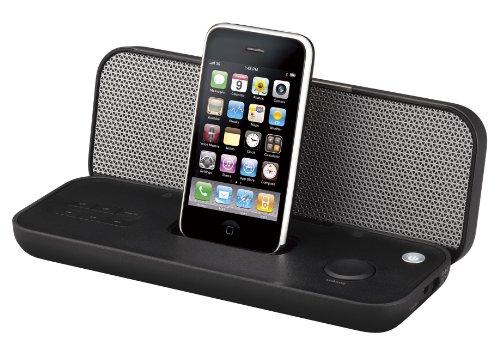 TDK iPod/iPhone対応スピーカー コンパクトボディ(折りたたみ式) ブラック Xaシリーズ SP-XA3602BK