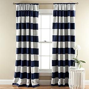 Stripe Blackout Window Curtain (Pair)
