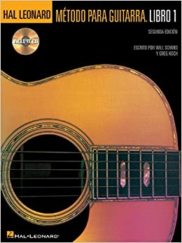 Amazon.com: Spanish Hal Leonard Guitar Method Book 1 Bk/CD 2nd edition