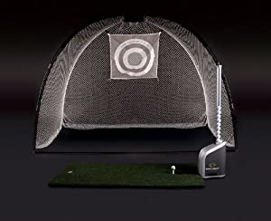 Egan Golf Center Training System with Large Training Mat and Hitting Net by Egan Golf