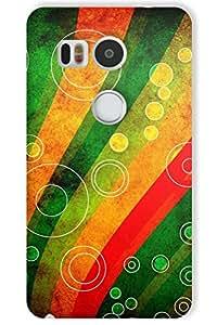 IndiaRangDe Hard Back Cover FOR Google LG Nexus 5X