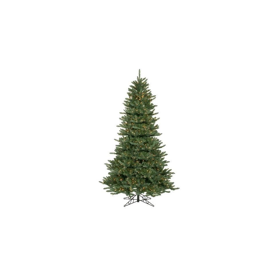 8.5 Pre Lit Blue Frasier Artificial Christmas Tree   Clear Lights