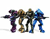 Halo 3 Collector 4 Figure 'Boxed' Set Campaign Co-Op Master Chief / Arbiter / N'Tho 'Sraom / Usze 'Taham Figures