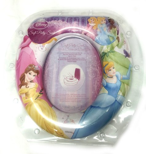 Disney Princess Princesses Soft Potty Seat Cinderella Belle Tiana Aurora