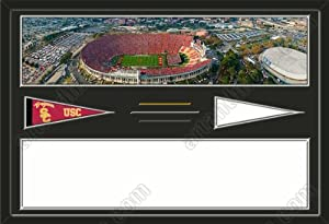 Southern California Trojans Los Angeles Memorial Coliseum Stadium & Your Choice... by Art and More, Davenport, IA