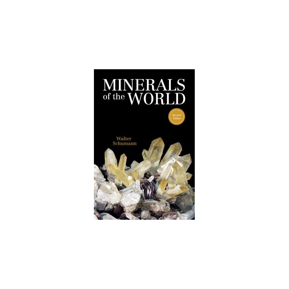minerals of the world princeton field guides