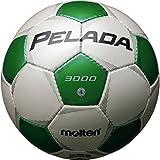 molten(モルテン) サッカーボール ペレーダ3000   4号 白×緑 F4P3000-WG