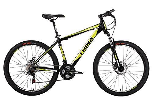 TRINX(トリンクス) 【マウンテンバイク】 ダブルディスク SHIMANO21SPEED 軽量アルミAL6061 MTB 26インチ M136 ブラック/グリーン