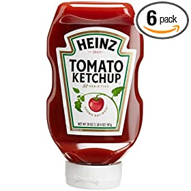 Ketchup, 20-Ounce Easy Squeeze Bottles (Pack of 6): Amazon.com