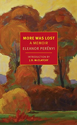 Image of More Was Lost: A Memoir (New York Review of Books Classics)
