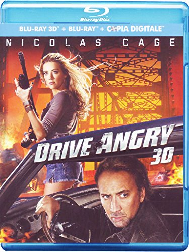 Drive angry - Destinazione inferno (2D+3D+copia digitale) [Blu-ray] [IT Import]