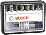Bosch 2607002566 (2 607 002 566) 12+1-piece Robust Line Screwdriver Bit Set M, Extra Hard Version 25 Mm, 12+1-pie 13 pieces
