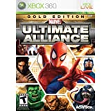 Marvel Ultimate Alliance Gold Edition -Xbox 360