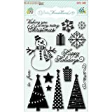 My Mind's Eye Christmas Clear Stamp Set - Winter Wonderland