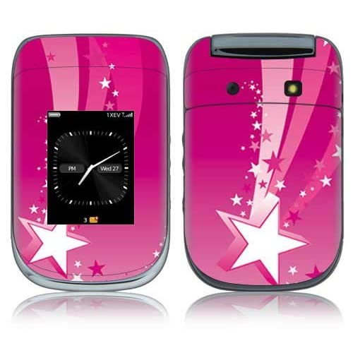 Pink Stars Decorative Skin Cover Decal Sticker for BlackBerry Style 9670 Cell Phone