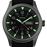 Best Mens Watches - INFANTRY® Mens Quartz Wrist Watch Date Day 24Hrs Review