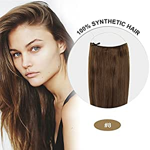 coco secret extensions ash brown hair synthetic hair