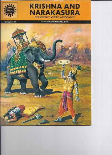 Krishna and Narakasura